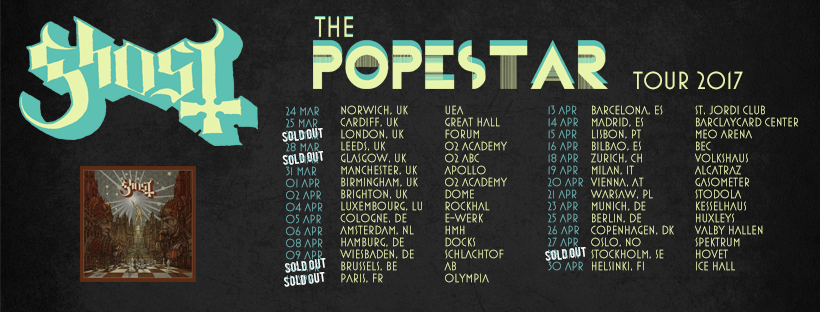 Popestar Tour 2017 Ghost