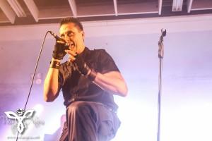 Die Krupps live at Amphi Festival 2014.