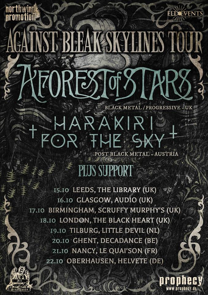 A Forest of Stars & Harakiri For The Sky