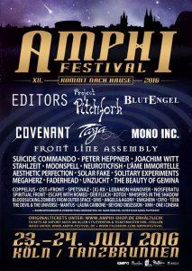 Amphi Festival 2016 – Tanzbrunnen Köln – Tag 2 – Bericht