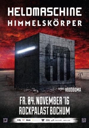 Heldmaschine – 04.11.2016 – Rockpalast Bochum – Vorbericht