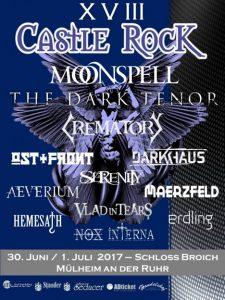 Castle Rock Festival 2017 – Schloss Broich Mülheim an der Ruhr – Vorbericht