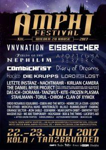 Änderungen beim Amphi Festival