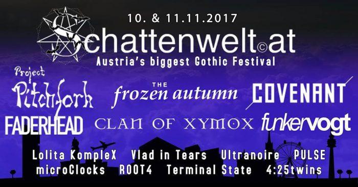 Schattenwelt Festival 2017 – Multiversum Schwechat – Vorbericht