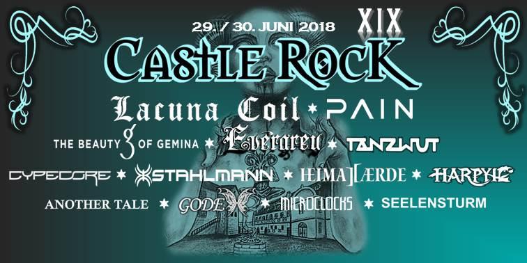 Castle Rock Festival 2018 – Schloss Broich Mülheim an der Ruhr – Vorbericht
