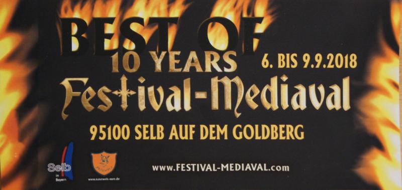 Festival-Mediaval 2018 – Goldberg Selb – Vorbericht