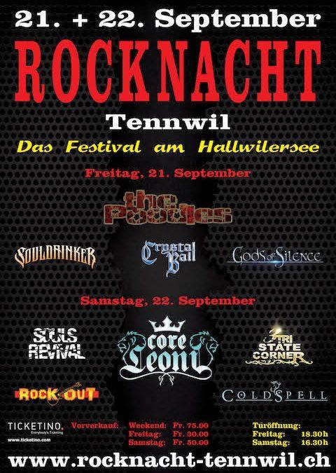 Rocknacht Tennwil 2018 – Das Festival am Hallwilersee – Vorbericht