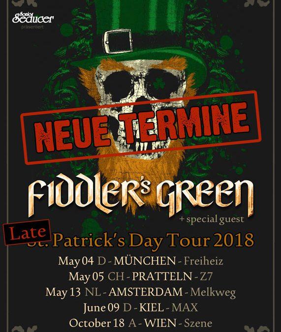 Fiddler's Green – 18.10.2018 – Szene Wien – Vorbericht