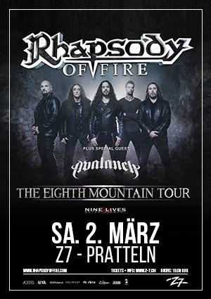 Rhapsody of Fire – 02.03.2019 – Z7 Pratteln – Vorbericht