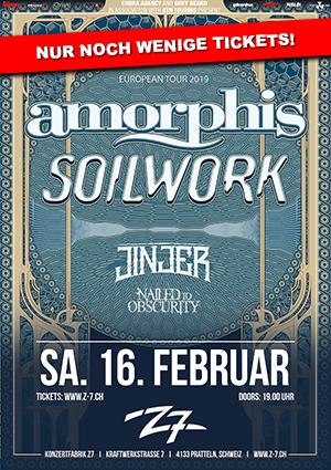 Amorphis – 16.02.2019 – Z7 Pratteln – Vorbericht