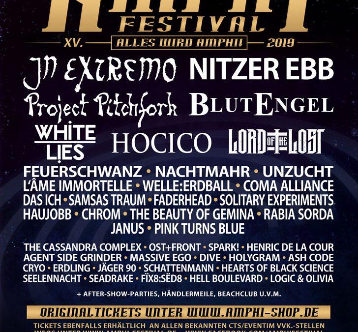 Amphi Festival 2019: Ticketinfos und Running-Order