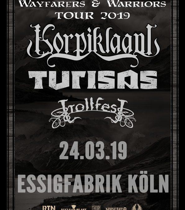 Korpiklaani – 24.03.2019 – Essigfabrik Köln – Vorbericht