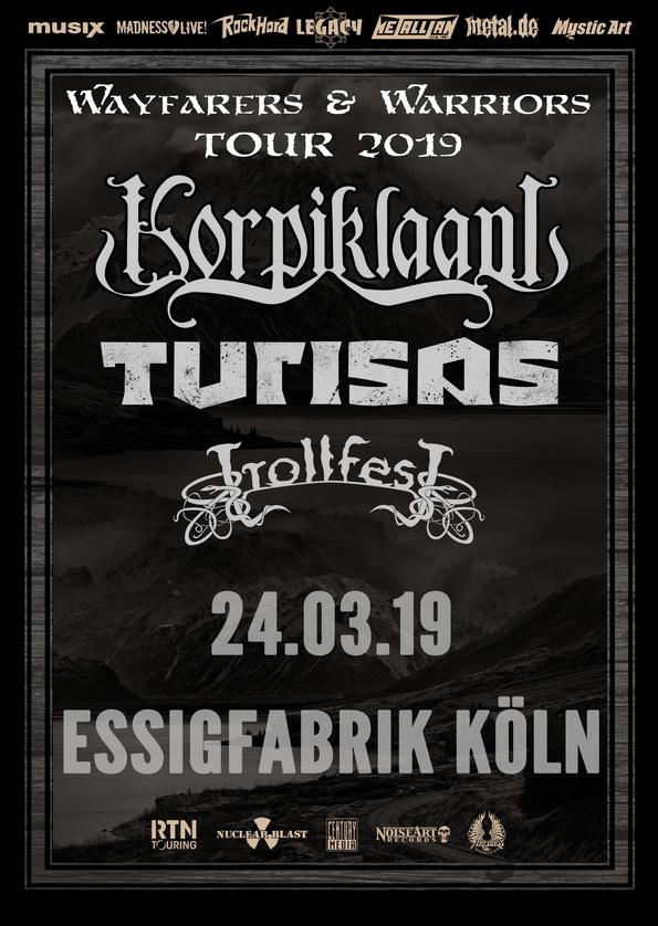 Korpiklaani Tour 2019 Köln