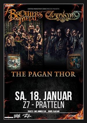 The Pagan Thor – 18.01.2020 – Z7 Pratteln – Vorbericht